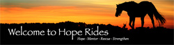 Welcome to Hope Rides