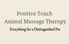 Positive Touch Animal Massage Therapy